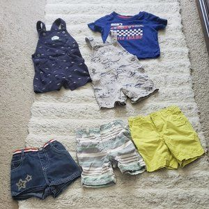 COPY - 12 18 Months boy summer smart clothes